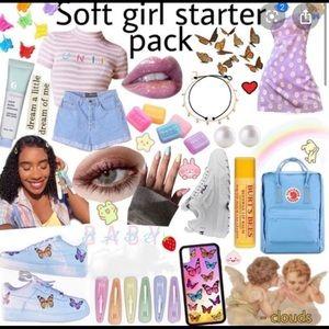 soft girl aesthetic starter pack